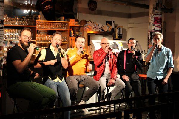 aMuSing – Münchner a-capella-Pop per Live-Stream aus dem Hinterhalt