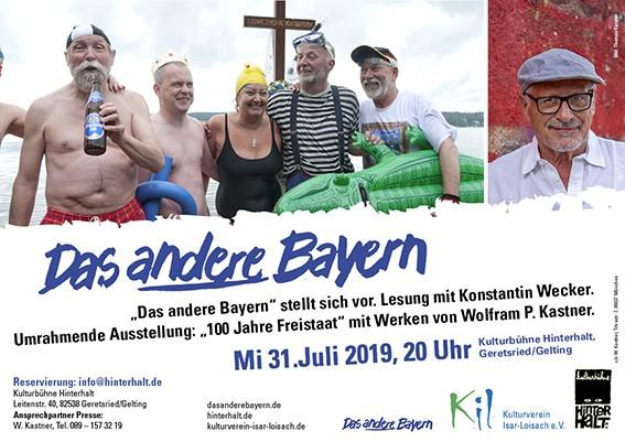 """Lesung mit Filmausschnitten, Ausstellung """"Das andere Bayern …"""""""