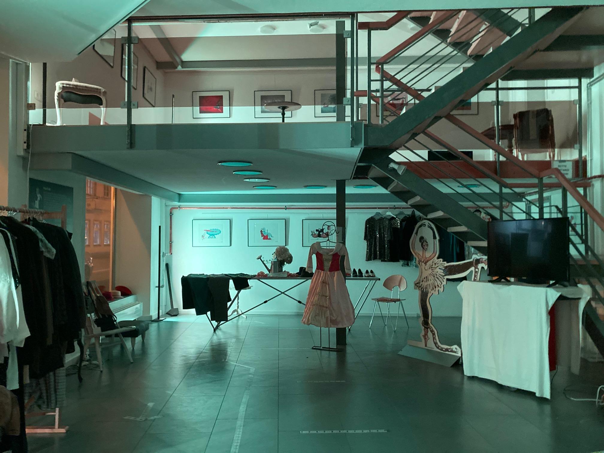 Die Kleine Mode-Boutique im Kunstturm am Schwankl-Eck