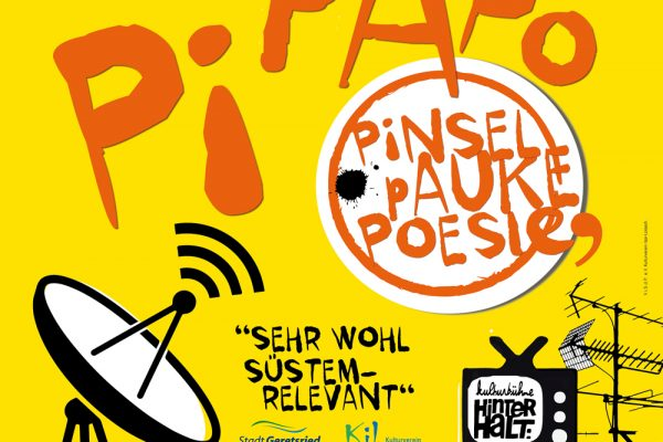 Geretsrieder Kulturtage PiPaPo 2020 – mit Pinsel, Pauke, Poesie vom 13.11. bis 24.11.2020