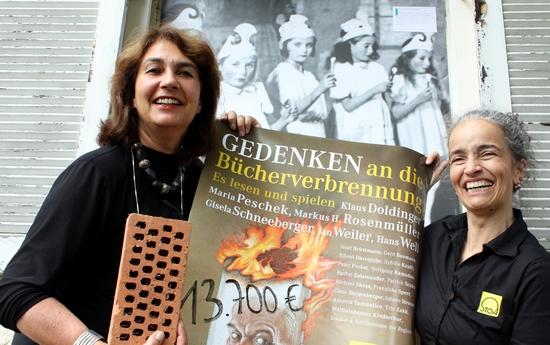 Gedenken an die Bücherverbrennung - 2015