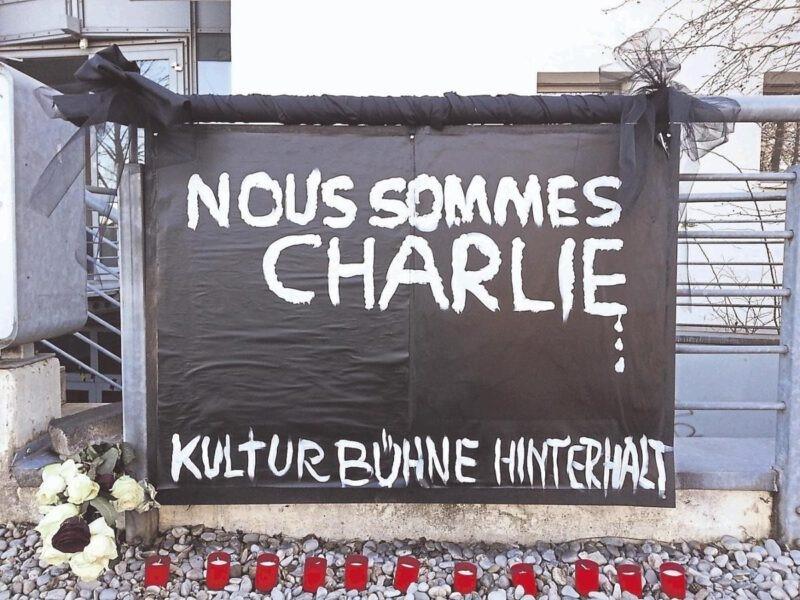 """Gedenkveranstaltung zum sechsten Jahrestag des Attentats auf """"Charlie Hebdo"""""""