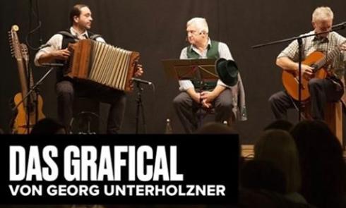 Oskar Maria Grafical von Georg Unterholzner, Lesung mit Musik, Live-Stream aus dem Hinterhalt