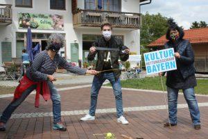 """KIL organisiert Protestaktion zum """"Kultur Rettungsschirm Bayern"""""""