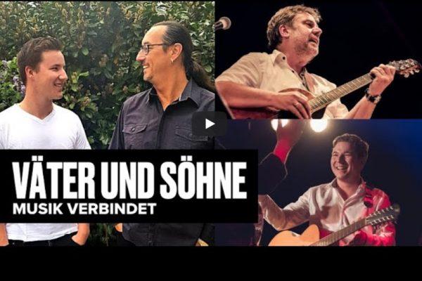 Väter und Söhne – Live-Stream-Konzert aus dem Hinterhalt