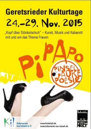 Geretsrieder Kulturtage PiPaPo 2015